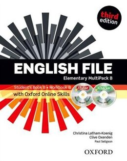 Book English File: Elementary MultiPACK B with iTutor and Online Skills by Christina Latham-Koenig