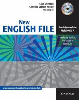 Book New English File: Pre-Intermediate MultiPACK A by Clive Oxenden