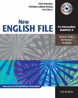 Book New English File: Pre-Intermediate MultiPACK B by Clive Oxenden