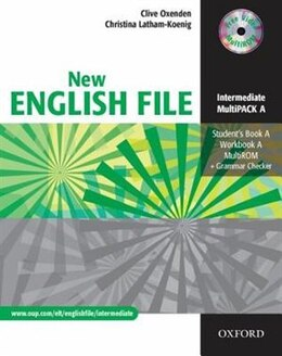 Book New English File: Intermediate MultiPACK A by Clive Oxenden