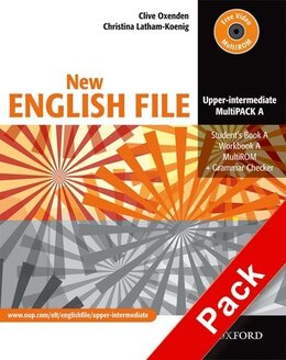Book New English File: Upper-Intermediate MultiPACK A by Clive Oxenden