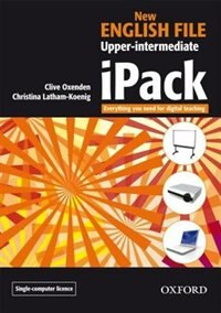 Book New English File: Upper-Intermediate iPack single-computer by Clive Oxenden