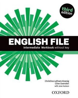 Book English File: Intermediate Workbook without key by Christina Latham-Koenig