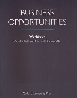 Book Business Opportunities: Workbook by Vicki Hollett