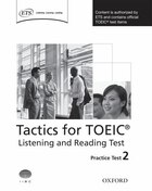 Tactics for TOEIC: Listening and Reading Practice Test 2