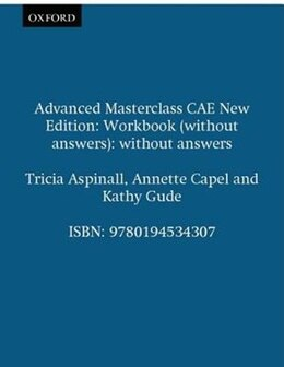 Book Advanced Masterclass CAE New Edition: Workbook (without answers): without answers by Tricia Aspinall