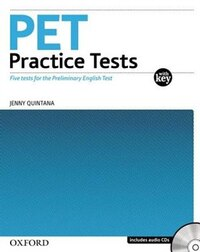 Pet Practice Tests with Key Pack