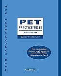 Book PET Practice Tests, New Edition: With Key by Jenny Quintana