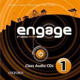 Book Engage: Level 1 Audio CDs (X2) by Gregory J. Manin