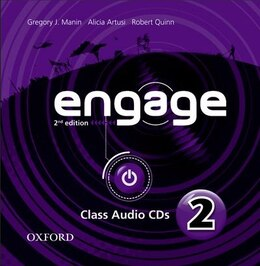 Book Engage: Level 2 Audio CDs (X2) by Gregory J. Manin