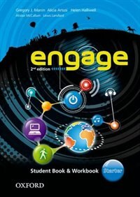 Book Engage: Starter Student Book and Workbook with MultiROM by Gregory J. Manin