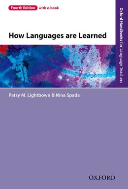 Book How Languages Are Learned by Patsy M. Lightbown