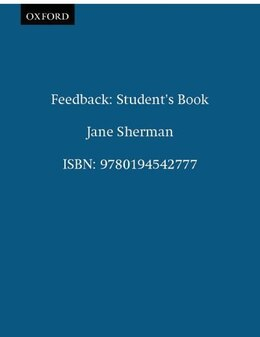 Book Feedback: Students Book by Jane Sherman