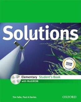 Book Solutions: Elementary Student Book with MultiROM Pack by Tim Falla