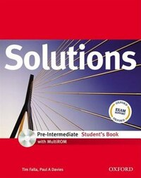 Solutions: Pre-Intermediate Student Book with MultiROM Pack