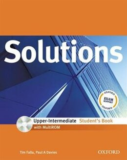 Book Solutions Upper-Intermediate: Students Book with MultiROM Pack by Tim Falla