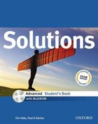 Solutions: Advanced Students Book with MultiROM Pack
