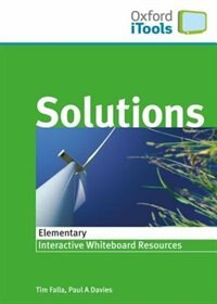 Book Solutions iTools: Elementary by Oxford