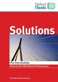 Book Solutions iTools: Pre-Intermediate by Oxford