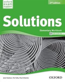 Book Solutions: Elementary Workbook and Audio CD Pack by Jane Hudson
