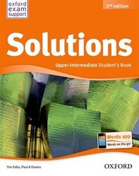 Solutions: Upper-Intermediate Student Book