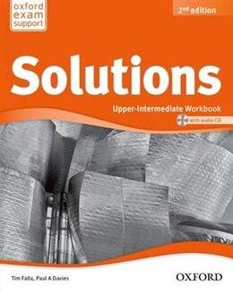 Book Solutions: Upper-Intermediate Workbook and Audio CD Pack by Tim Falla