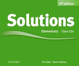 Book Solutions: Elementary Class Audio CDs (3 Discs) by Tim Falla