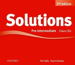 Book Solutions: Pre-Intermediate Class Audio CDs (3 Discs) by Tim Falla
