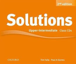 Book Solutions: Upper-Intermediate Class Audio CDs (3 Discs) by Tim Falla
