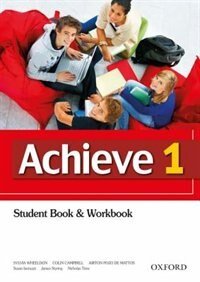 Book Achieve: Level 1 Student Book by Sylvia Wheeldon