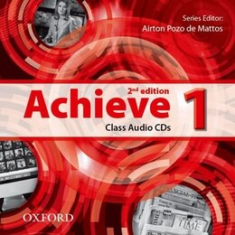 Book Achieve: Level 1 Class Audio CDs by Airton Pozo de Mattos