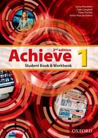 Book Achieve: Level 1 Student Book and Workbook by Sylvia Wheeldon