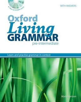Book Oxford Living Grammar: Pre-Intermediate Revised Edition Pack by Ken Paterson