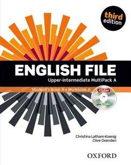 Book English File: Upper-Intermediate MultiPACK A by Christina Latham-Koenig