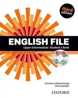 Book English File: Upper-intermediate Students Book with iTutor by Christina Latham-Koenig