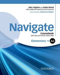 Navigate: Elementary A2 Coursebook with DVD and online skills