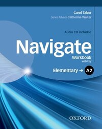 Navigate: A2 Elementary Workbook with CD (with key)