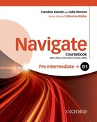 Navigate: Pre-intermediate B1 Coursebook with DVD and online skills
