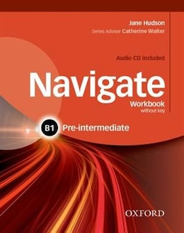 Book Navigate: Pre-intermediate B1 Workbook with CD (without key) by Jane Hudson
