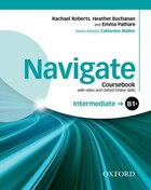 Navigate: Intermediate B1+ Coursebook with DVD and online skills: Your direct route to English…