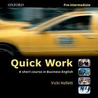 Quick Work: Pre-Intermediate Audio CD