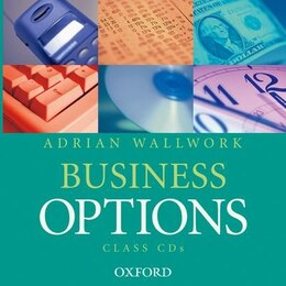 Book Business Options: Class Audio Cds (2) by Adrian Wallwork