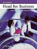 Book Head for Business: Upper-Intermediate Student Book by Jon Naunton