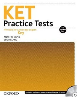 Book Ket Practice Tests (Revised) with Key Pack by Annette Capel