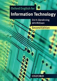 Book Oxford English for Information Technology, New Edition: Student Book by Eric Glendinning