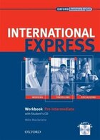 International Express, New Edition: Pre-Intermediate Workbook with Students Audio CD