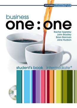 Book Business one:one: Intermediate Business One to One Intermediate Student Book Pack by Rachel Appleby