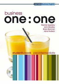 Business one:one: Pre-intermediate Business One To One Pre-Intermediate Student Book Pack