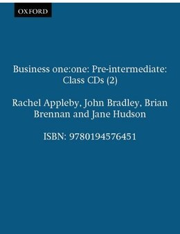 Book Business one:one: Pre-intermediate Class CDs (2) by Rachel Appleby
