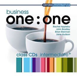 Book Business one:one: Intermediate Class CDs (2) by Rachel Appleby